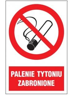 Znak PALENIE TYTONIU...