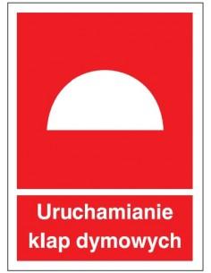 Znak URUCHAMIANIE KLAP...